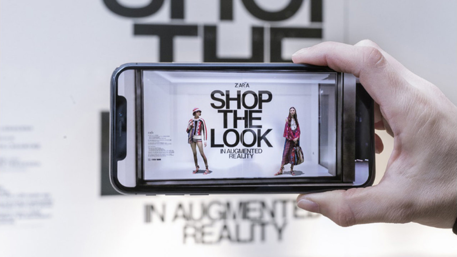 AR in the fashion industry